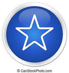 Star icon blue button