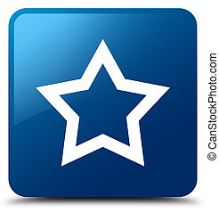 Star icon blue square button