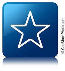Star icon blue square button