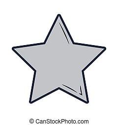 star icon cartoon