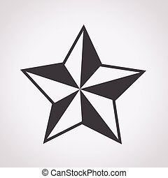 Star outline icon star icon of brown outline for vector search star icon sciox Gallery