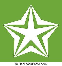Star icon green