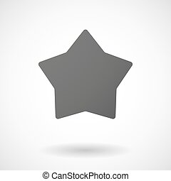 star icon on white background