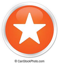 Star icon orange button