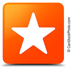 Star icon orange square button