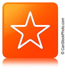 Star icon orange square button