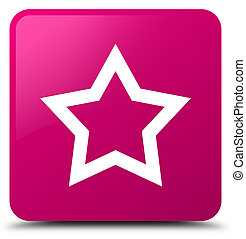 Star icon pink square button