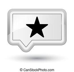 Star icon prime white banner button