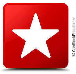 Star icon red square button