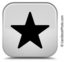 Star icon special white square button
