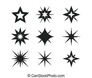 star icon symbol illustration design