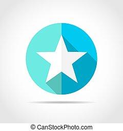 Star icon. Vector illustration.