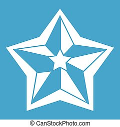 Star icon white