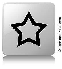 Star icon white square button