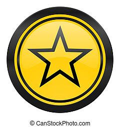 star icon, yellow logo