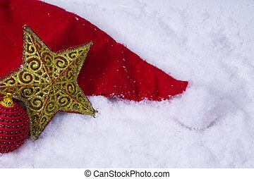 star in the snow