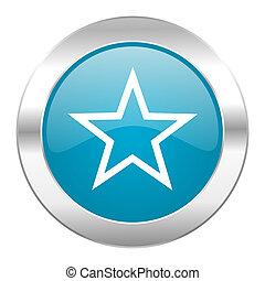 star internet blue icon