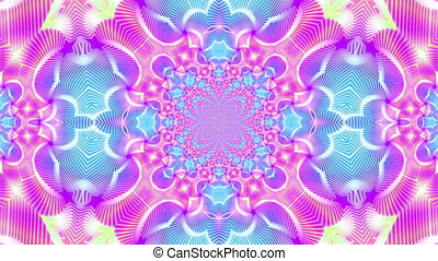 Star kaleidoscope background