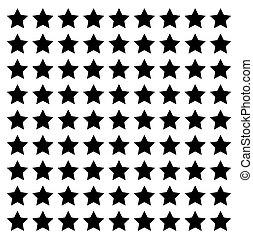star line square vector design footer modern border
