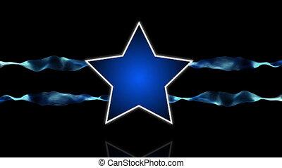 Star logo blue energy