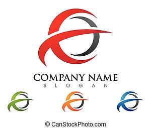 Star Logo Template - E Letter Faster Logo Template vector...