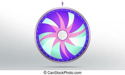 star lucky spin twelve purple 4K