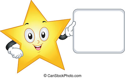 Star Mascot Board
