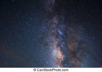 Star Night - night scene milky way background in the galaxy