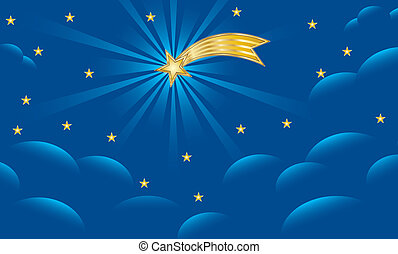 star of bethlehem nativity illustration cartoon vector. Black Bedroom Furniture Sets. Home Design Ideas