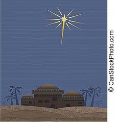 Star of Bethlehem - Simple clean interpretation of the star...