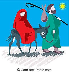 Star of Bethlehem. Nativity