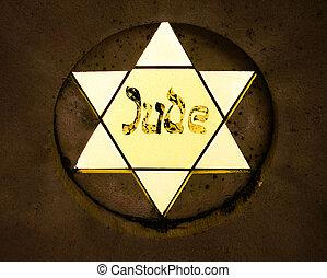 Star of David from the Miami Beach Holocaust memorial