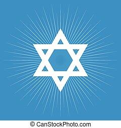 Star of David symbol, Jewish symbol
