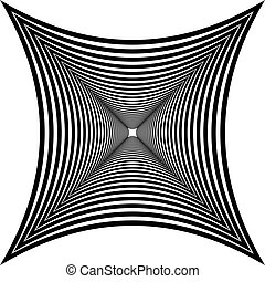 star optical illusion