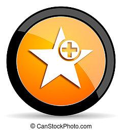 star orange icon