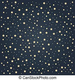 Star pattern background with gradient