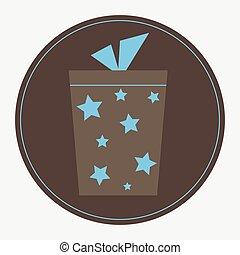 Star Pattern Gift Box