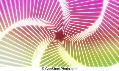 Star Radiation colorful 1