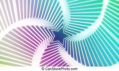 Star Radiation colorful 2