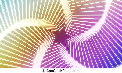 Star Radiation colorful 4