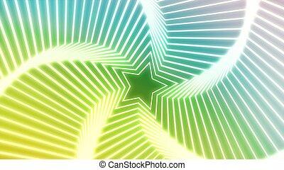 Star Radiation colorful 5