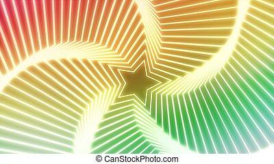 Star Radiation colorful 6