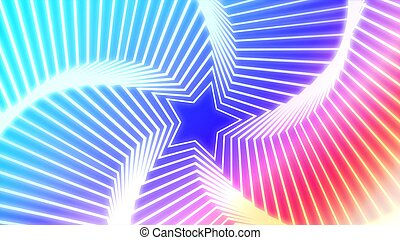 Star Radiation colorful 7