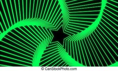 Star Radiation green