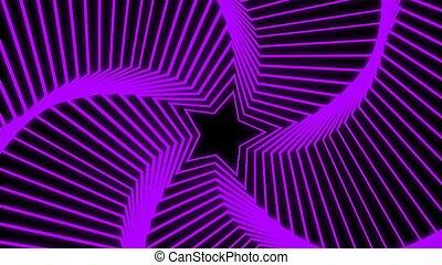 Star Radiation purple