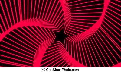 Star Radiation red