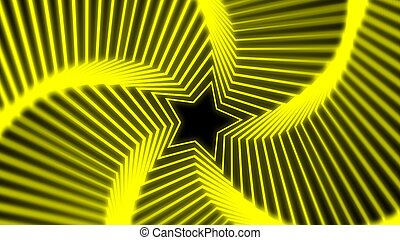 Star Radiation soft yellow