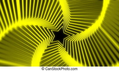 Star Radiation yellow blur