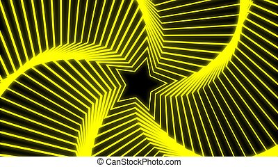Star Radiation yellow