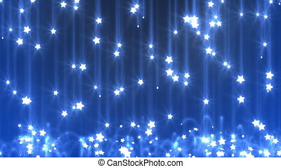 star rain, seamless looped background